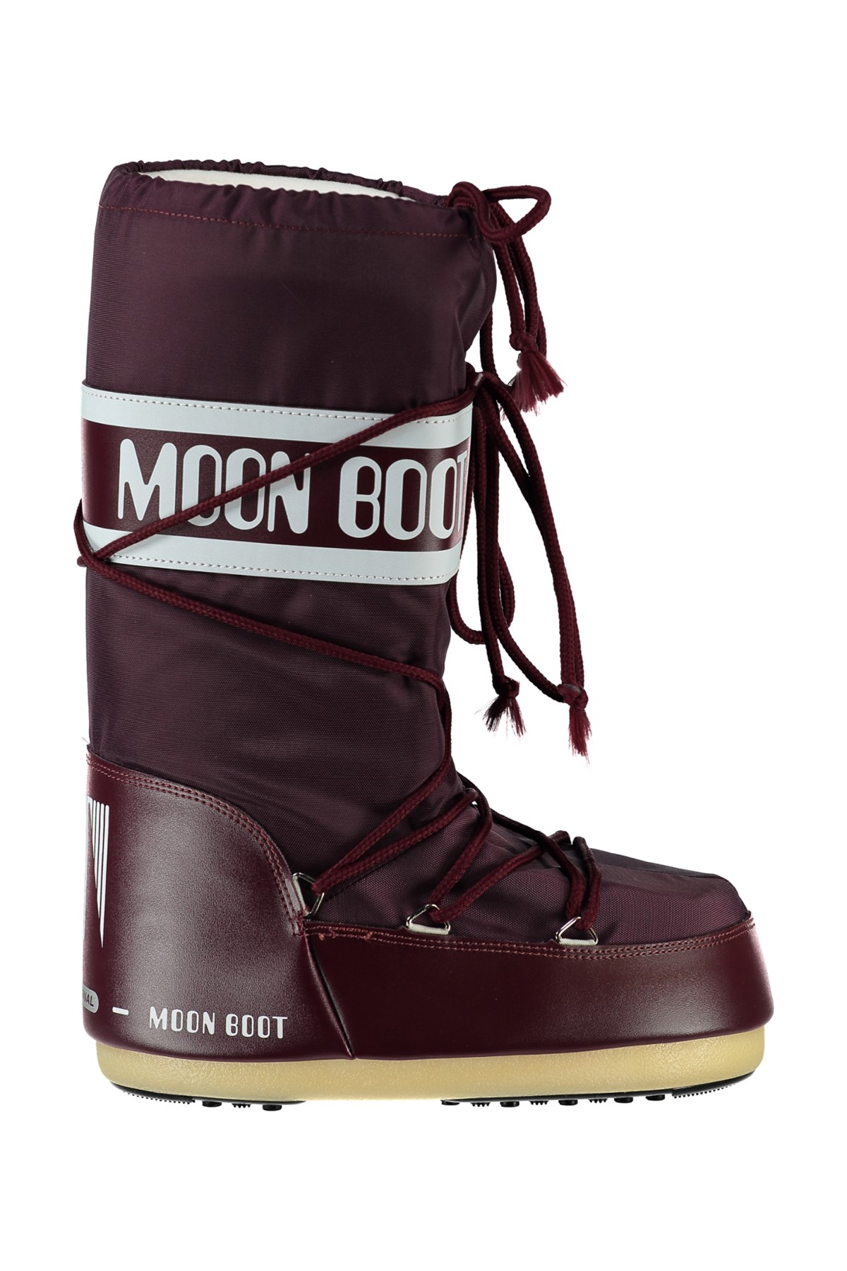 MOON BOOT Kadın Bordo Moon Boot Nylon Burgundy 1