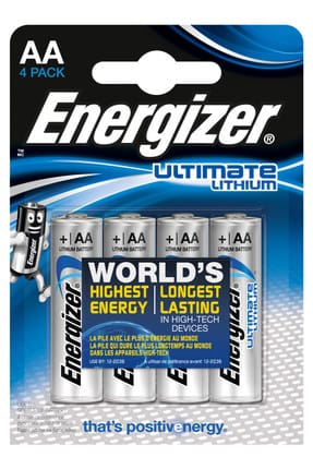 Energizer Ultimate Lithium AA 4 lü Pil