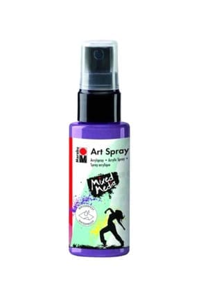 Marabu Art Spray Akrilik Sprey Boya 50 ml 007-Lavender