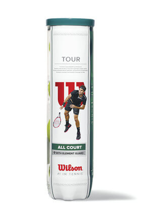 Wilson Unisex Top - TeniWrt115700 Tour All Court 4 Ball - WRT115700