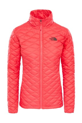 THE NORTH FACE Thermoball Hooded Insulated Kadın Mont Pembe