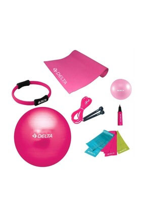 Delta 75 cm Ultimate New Collection Fuşya Pilates Seti - UNC
