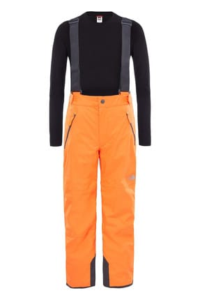 THE NORTH FACE Youth Snowquest Suspender Plus Pantolon Turuncu