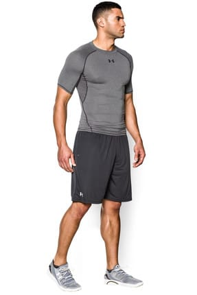Under Armour Erkek T-Shirt - UA Hg Armour Ss - 1257468-090
