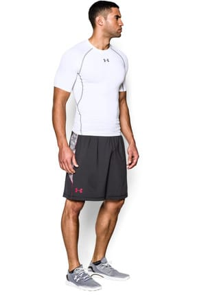 Under Armour Erkek T-Shirt - UA Hg Armour Ss - 1257468-100