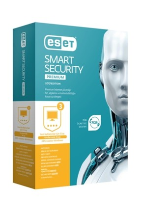 Nod32 ESET Smart Security Premium v10 -3 Kullanıcı