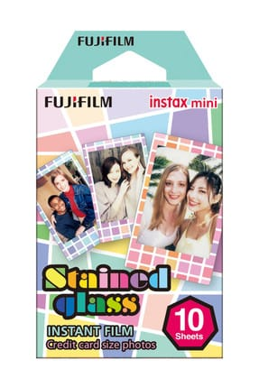 Fujifilm Instax Mini Stained Glass 1 10'lu Film