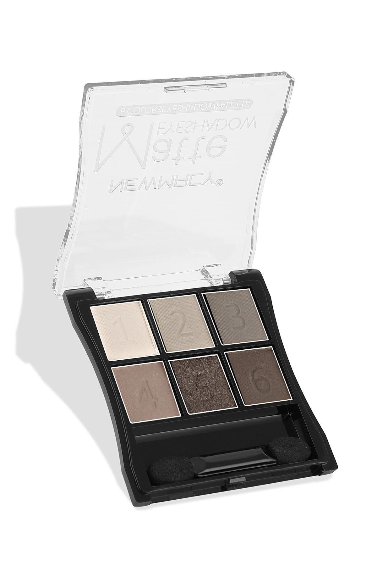 Newmacy 6'lı Göz Farı Paleti - 6 Colors Eyeshadow Palette 01 8681702001971 1