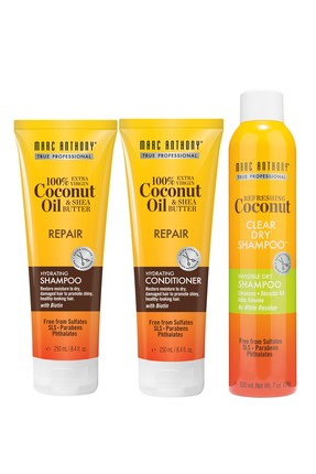 MARC ANTHONY Coconut Oil Repair Şampuan 250 ml + Saç Kremi 250 ml + Kuru Saç Şampuanı 330 ml 6580356563224