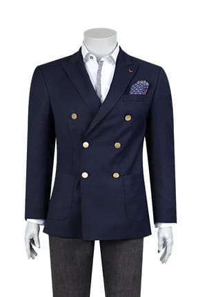 D'S Damat Ds Damat Kruvaze Ceket (Regular Fit)