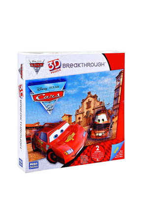 Mega Puzzles 200 Parça 3D Puzzle Breakthrough Cars 2 /