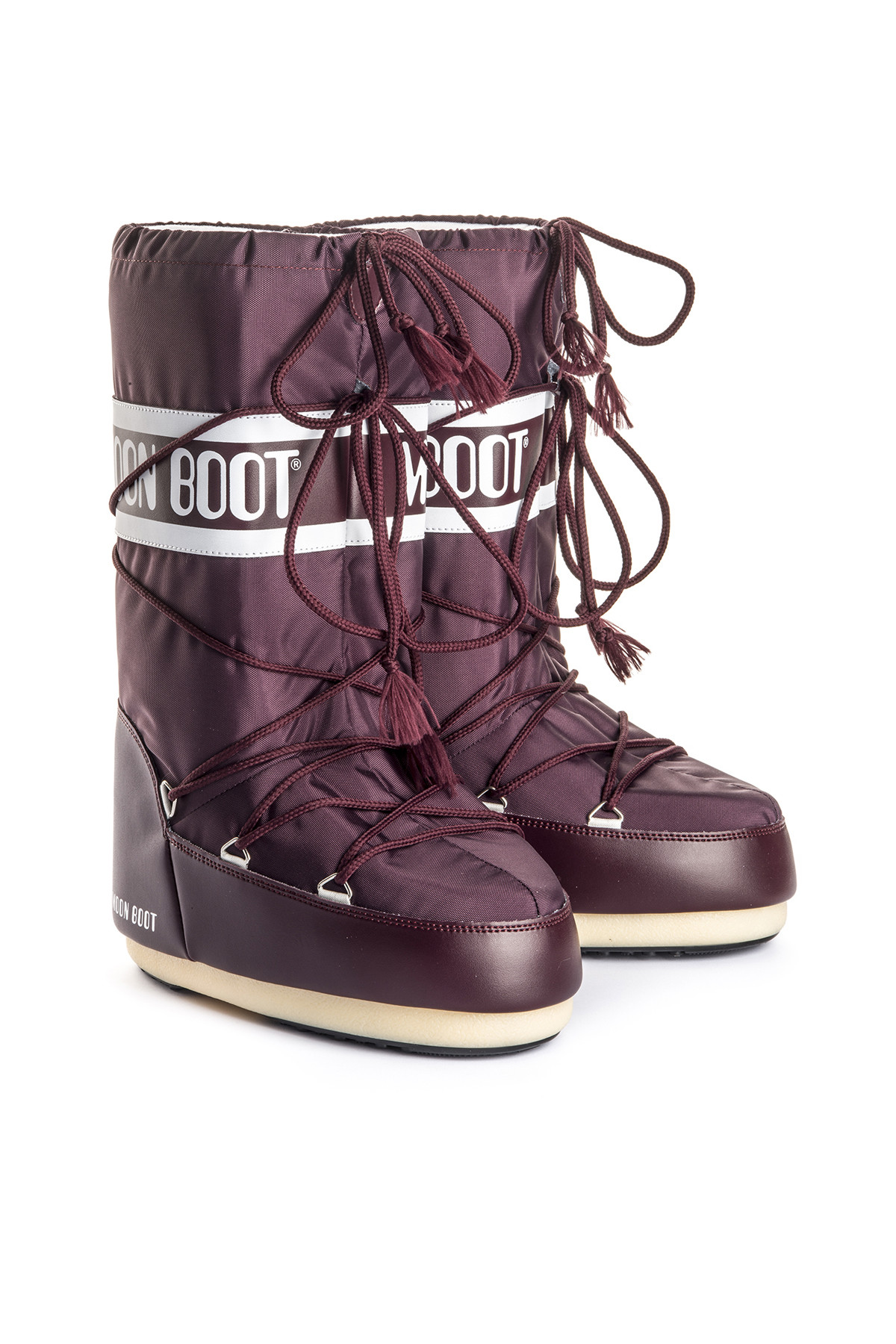 MOON BOOT Kadın Bordo Moon Boot Nylon Burgundy 2