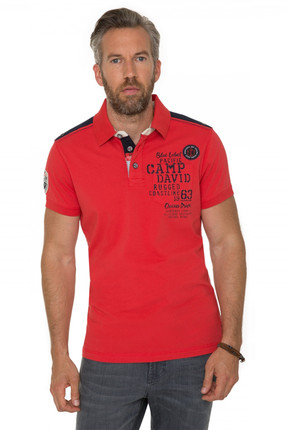 Camp David Erkek Polo Yaka T-shirt CCB-1803-3389_RDK