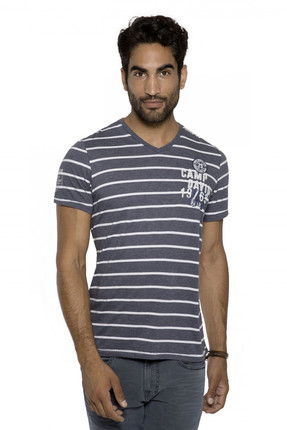 Camp David Erkek Mavi T-Shirt CCB-1804-3409_DO