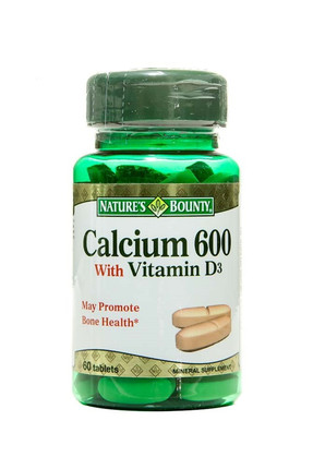 Nature's Bounty Calcium 600 With Vitamin D3 60 Tablet
