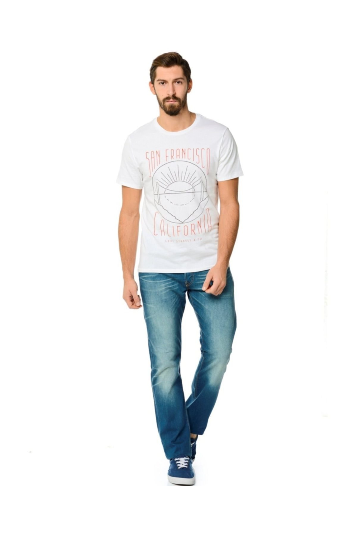 Levi's 501 Original Fit Straight Erkek Jean Pantolon (00501-2015) 1