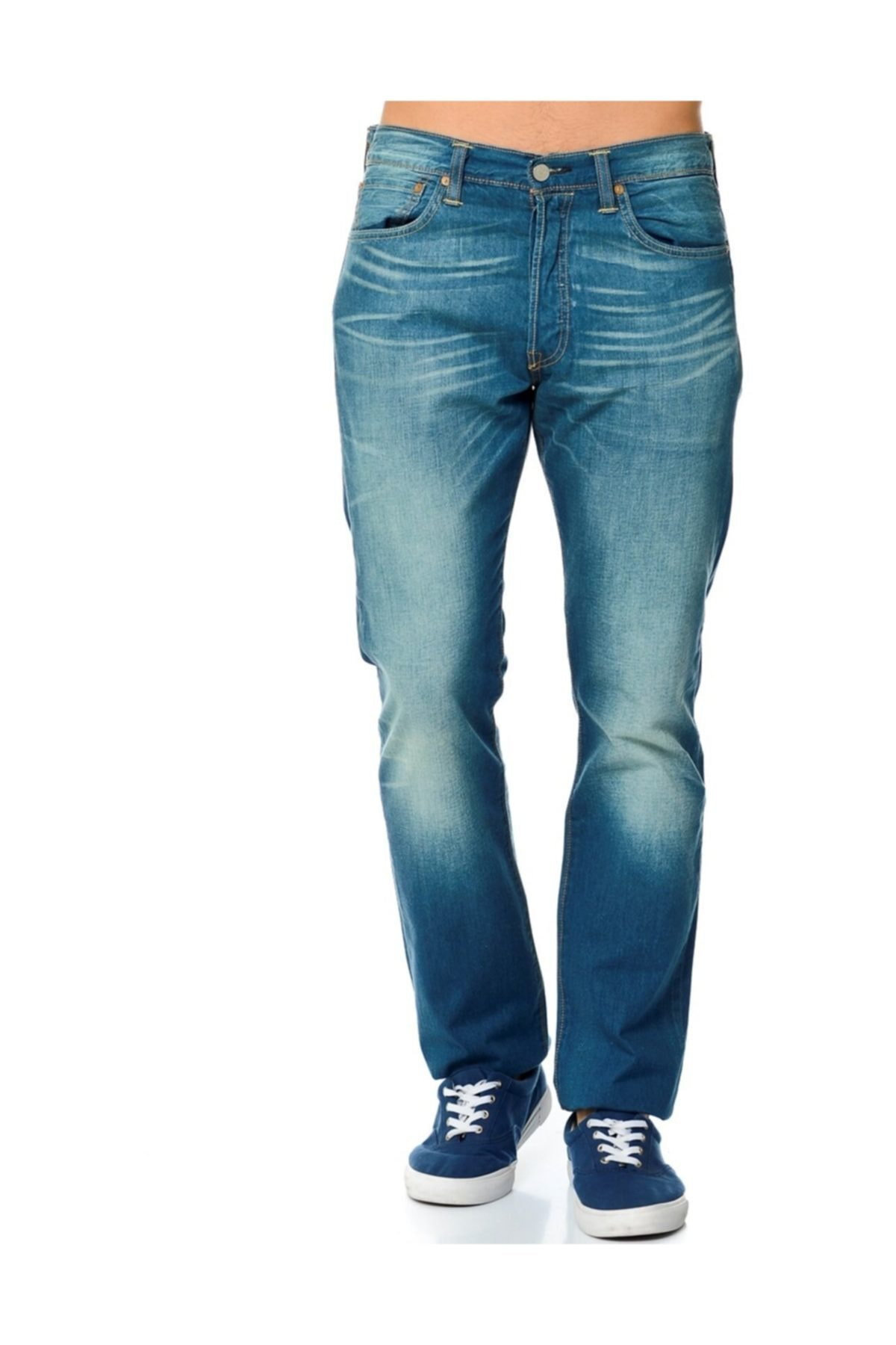 Levi's 501 Original Fit Straight Erkek Jean Pantolon (00501-2015) 2