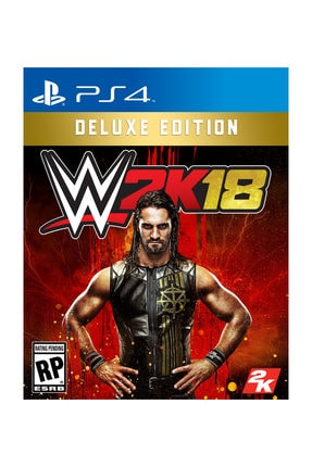 2K Games WWE 2K18 Deluxe Edition PS4 Oyun