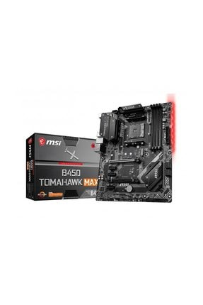 MSI B450 TOMAHAWK MAX Amd B450 AM4 Soket 3466MHz DDR4 USB 3.2 DVI&HDMI Anakart