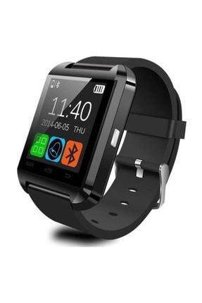 POLYGOLD U8 Akıllı Saat Smart Watch Ios Ve Android Uyumlu Bluetooth Saat Siyah