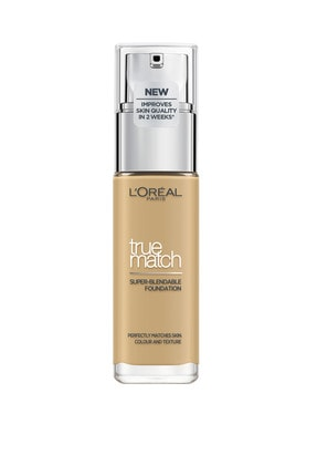 L'Oreal Paris Fondöten - True Match Foundation 4D Golden Natural 30 ml 3600522862550