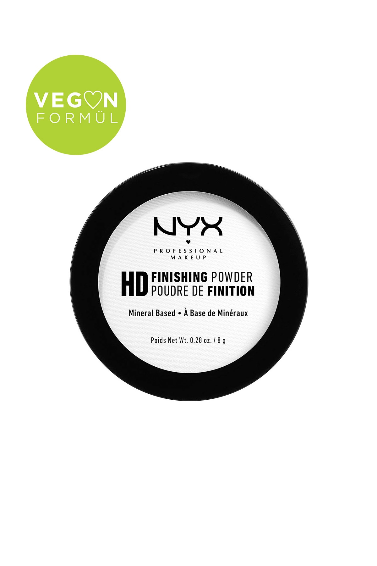 NYX Professional Makeup Sabitleyici Pudra - High Definition Finishing Powder Translucent 43 g 800897834661 1