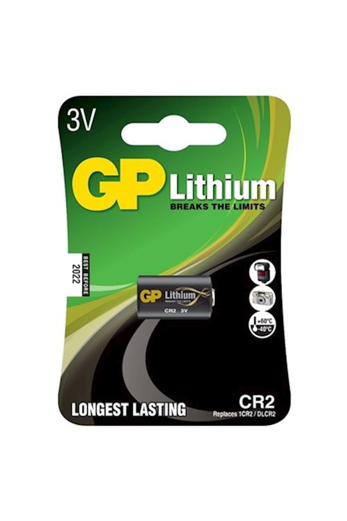 GP Batteries Gp CR2 Photo Lityum Pil 3 Volt