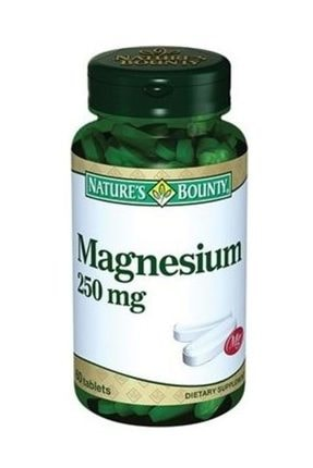 Nature's Bounty Nature's Bounty Magnesium 250 mg 60 Tablet