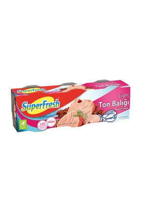 SuperFresh Superfresh Ton Light 3X80 G