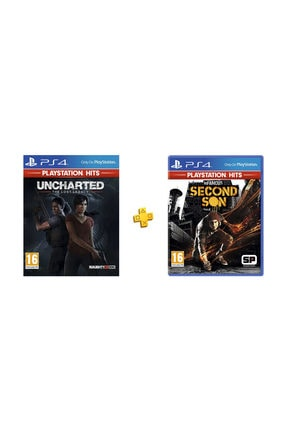 Sony Uncharted Kayıp Miras PS4 + Infamous Second Son PS4 Hits Paketi