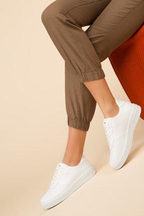 SOHO Beyaz Kadın Sneaker 14361