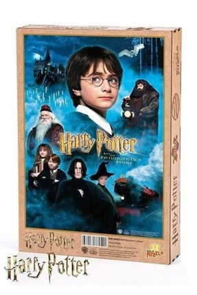 King Of Puzzle Harry Potter - Philosopher's Stone Ahşap Puzzle 500 Parça (kop-hp053 - D) - NULL