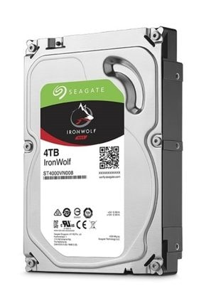 Seagate 4tb Gate Ironwolf 5900r 64mb Nas Rv St4000vn008
