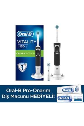 Oral-B D150 Şarjlı Diş Fırçası + 1 Yedek Başlık + Pro Onar Diş Macunu 50 ml