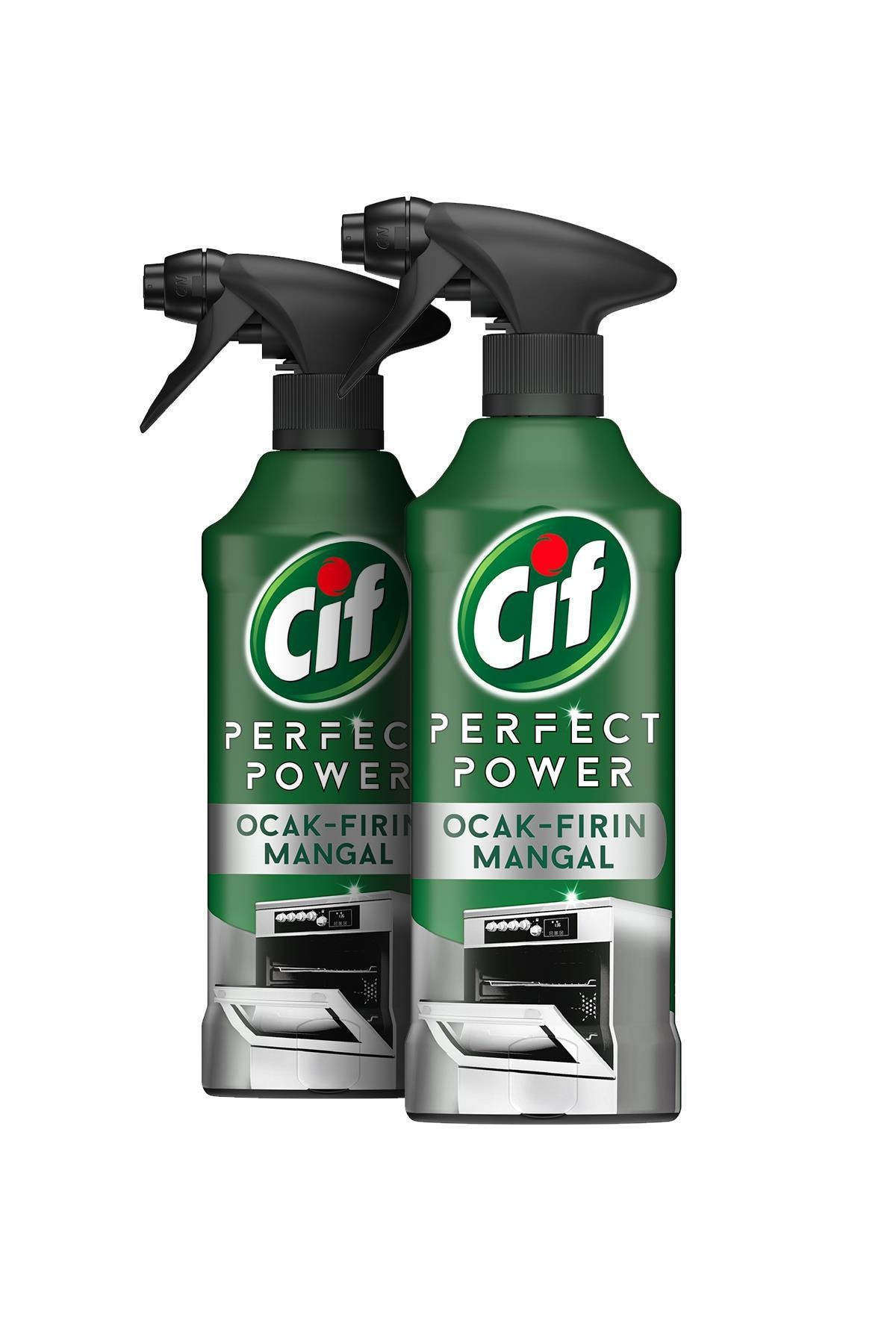 Cif Perfect Power Fırın & Ocak & Mangal Sprey Temizleyici 435 ml -2'li paket