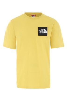 THE NORTH FACE The North Face Masters Of Stone Erkek T-Shirt Sarı