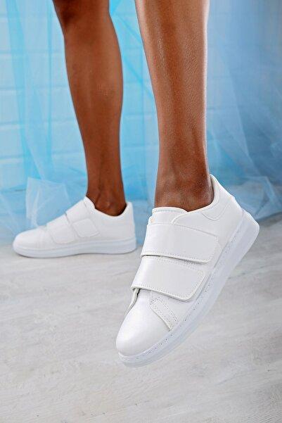 Beyaz Kadın Spor Ayakkabı 4000-19-101003