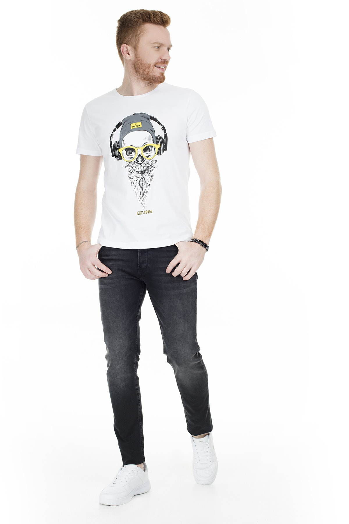 Buratti Erkek SİYAH Normal Bel Dar Paça Slim Fit Jeans 7287U869BARTEZ