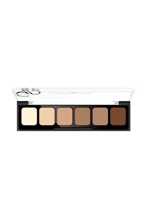 Golden Rose 6'lı Kapatıcı Paleti - Concealer Cream Palette 02 Medium To Dark 8691190120726
