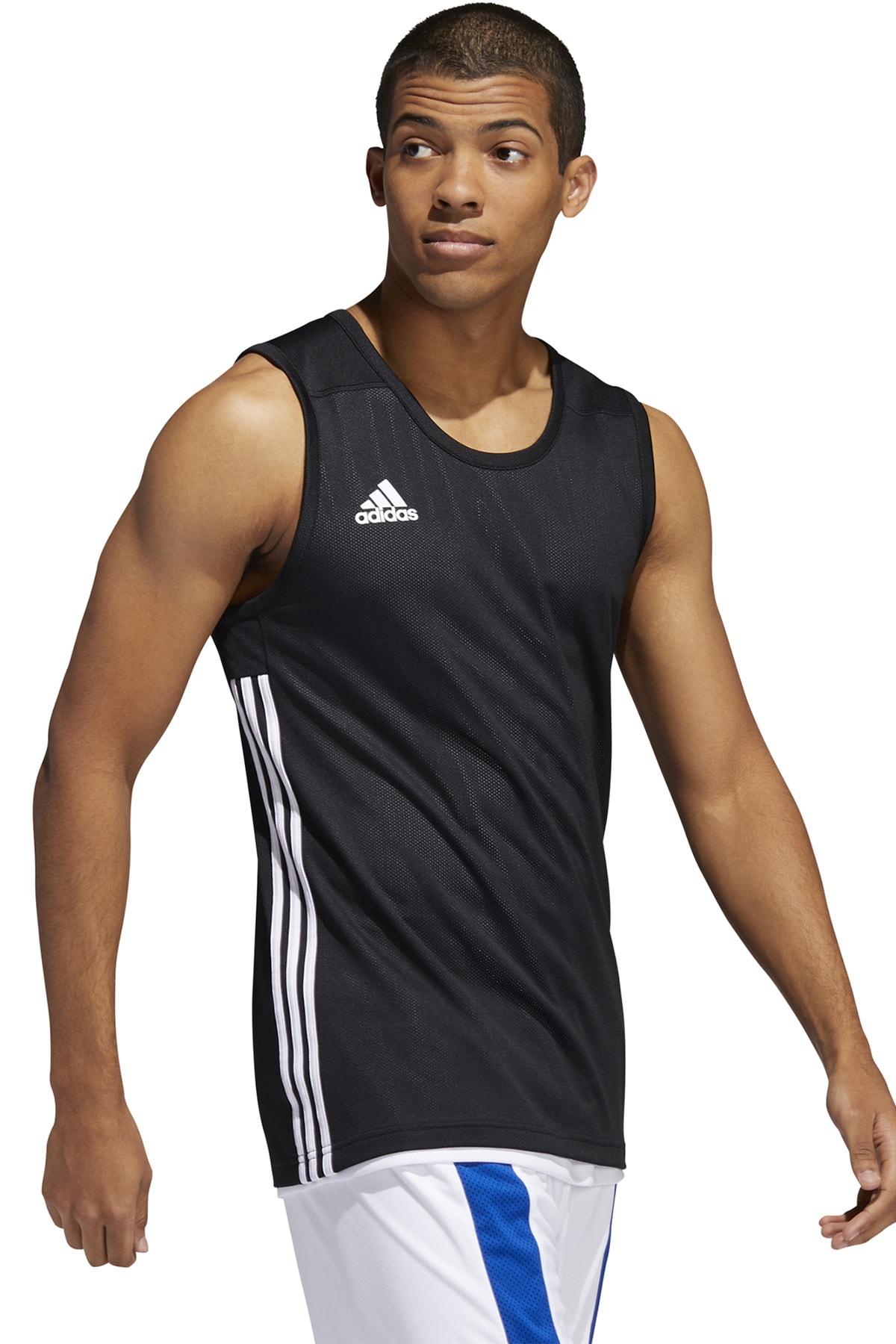 adidas Erkek Siyah 3g Speed Reversible Jersey Basketbol Forma