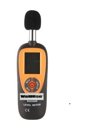 Wellhise Ht-90a Ses Seviyesi Ölçer Desibelmetre