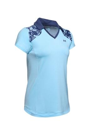Under Armour Kadın Spor T-Shirt - UA Zinger Blocked Polo - 1350158-494