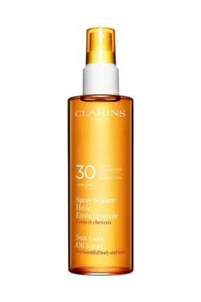 Clarins Sun Care Radiant Oil Spray Spf 30 Güneş Yağı