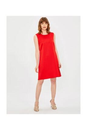 Vekem Kadın Kolsuz Klasik Kesim Krep Elbise
