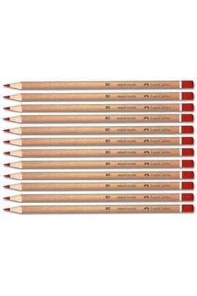 Faber Castell Naturel Kırmızı Renkli Kurşun Kalem 144 Lü Paket (1132419001)