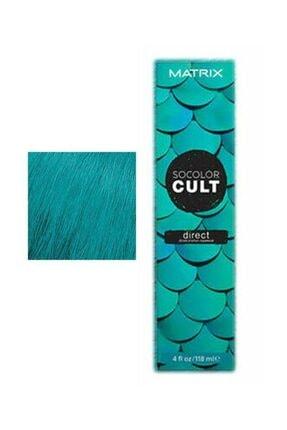 Matrix Socolor Cult Semi Mermaid Teal Saç Boyası 118ml - Yosun