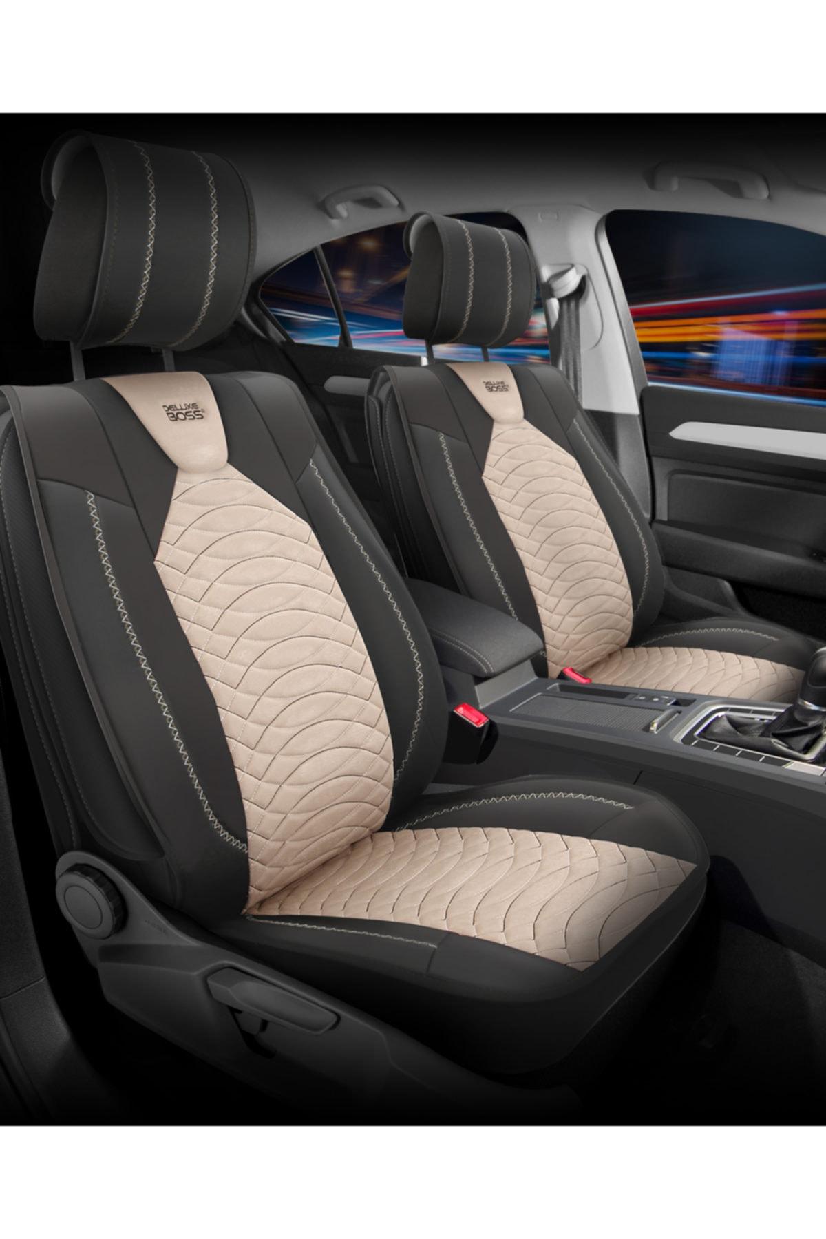 Deluxe Boss Fiat Egea Uyumlu Kadife Deri Koltuk Kilifi Luxury Fit Prestige Pr11 Trendyol