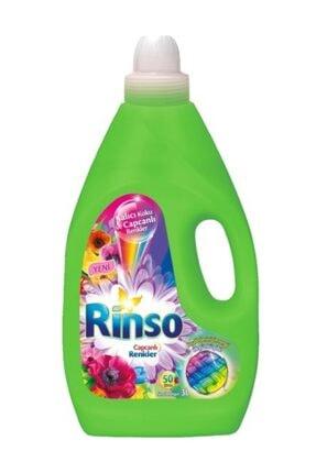 Rinso Capcanlı Renkler Sıvı Çamaşır Deterjanı 3000 ml(50 Yıkama)