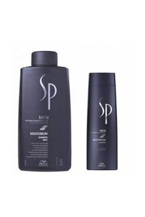 Wella Sp Men Maxximum Maximum Dökülme Önleyici Şampuan 1000+250 ml