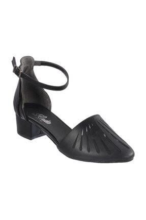 Maje Siyah Kadın Topuklu Ayakkabı 6033